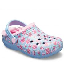 Kids' Classic Fuzz-Lined Graphic Clog