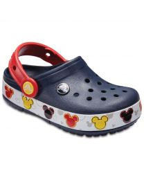 Kids' Crocband™ Mickey Mouse Fun Lab Lights Clog