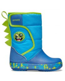 Kids' Crocs Fun Lab Monster Lights Boot