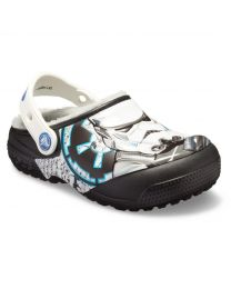 Kids' Crocs Fun Lab Lined Stormtrooper Clog