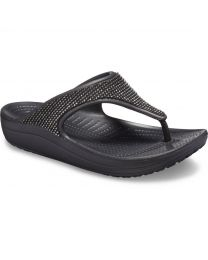 Women's Crocs Sloane Ombre Diamante Flip