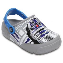 Kids' Crocs Fun Lab Lights R2-D2 Clog