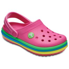 Kids' Crocband™ Rainbow Band Clog