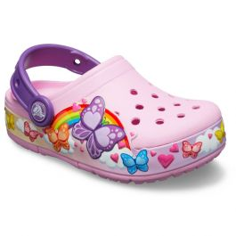 Kids' Crocs Fun Lab Butterfly Band Lights Clog