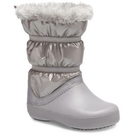 Kids' Crocband™ LodgePoint Metallic Boot