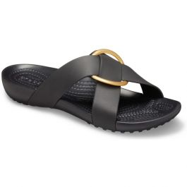 Women's Crocs Serena Cross-Band Slide