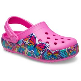 Kids' Crocs Fun Lab Multi-Butterfly Band Lights Clog