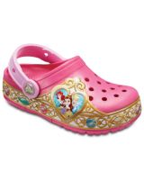 Kids' Crocs Fun Lab Disney Princess Lights Clog